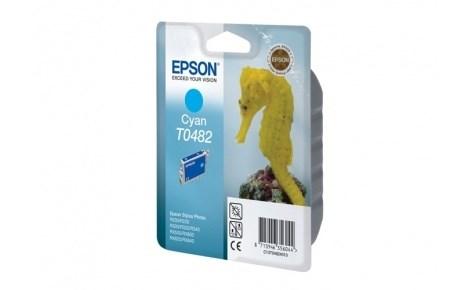 К-ж Epson T0482 Cyan для EPS ST Photo R200/R300/RX500/RX600 ориг. - фото 5917