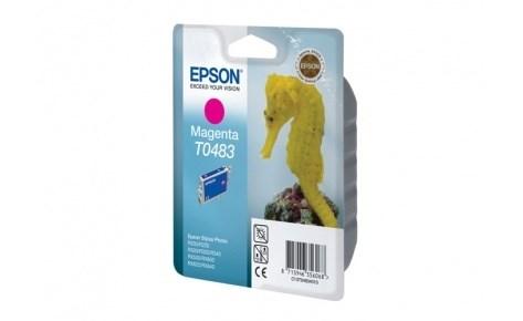 К-ж Epson T0483 Magenta для EPS ST Photo R200/R300/RX500/RX600 ориг. - фото 5918