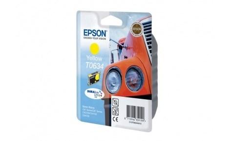 К-ж Epson T0634 Yellow для EPS ST C67/C87 CX3700/CX4100/CX4700 ориг. - фото 5951