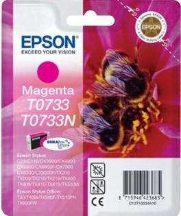К-ж Epson T0733 Magenta для EPS ST С79/СХ3900/4900/5900 ориг. - фото 5973