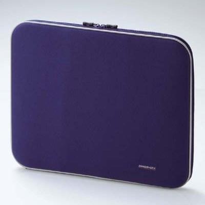 Чехол для ноутбука Elecom ZSB-IB010BU (синий нейлон, ZeroShock, 37 х 29 х 4см внутр.) - фото 5985