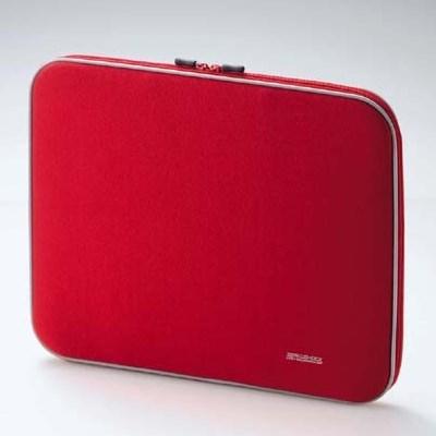 Чехол для ноутбука Elecom ZSB-IB010RD (красный нейлон, ZeroShock, 37х29х4см внутр.) - фото 5993