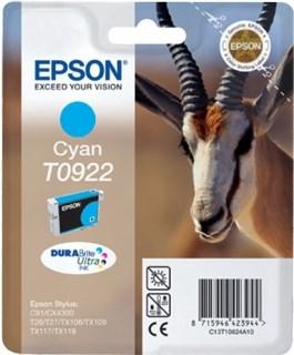 К-ж Epson T0922 Cyan для EPS C91/CX4300 ориг. - фото 6006