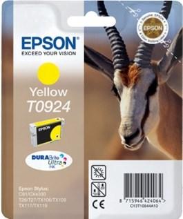 К-ж Epson T0924 Yellow для EPS C91/CX4300 ориг. - фото 6008