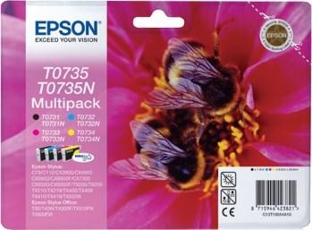 К-ж Epson T0735 MultiPack (T0731+T0732+T0733+T0734) ориг. - фото 6009