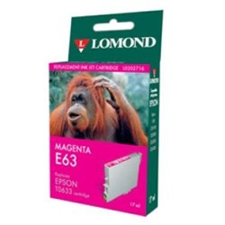 "К-ж Epson T06334A Magenta для EPS ST C67/C87 CX3700/CX4100/CX4700 ""Lomond"" (202716) - фото 6056"