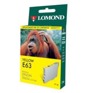 """К-ж Epson T06344A Yellow для EPS ST C67/C87 CX3700/CX4100/CX4700 """"Lomond"""" - фото 6057"""