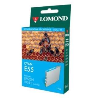 """К-ж Epson T0552А Cyan для EPS ST Photo R240/RX420/RX425 """"Lomond"""" (202725) - фото 6060"""