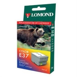 "К-ж Epson T037040 Color (Stylus C42Plus/S/SX/UX) ""Lomond"" (202731) - фото 6065"