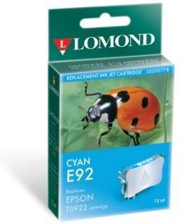 """К-ж Epson T09224A10 Cyan для EPS C91/CX4300 """"Lomond"""" (202778) - фото 6072"""