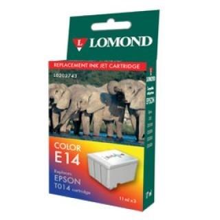 """К-ж Epson T014 Color (480/580/C20/C40) """"Lomond"""" (202743) - фото 6087"""