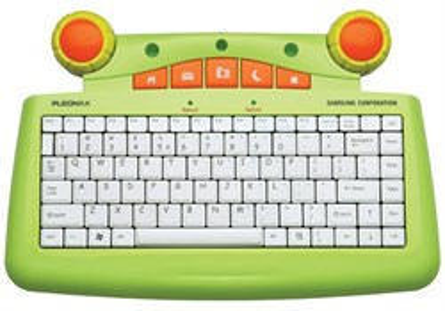 "Клавиатура Samsung Pleomax PKB-5300 (детская, USB, ""ноутбучные"" клавиши) - фото 6191"