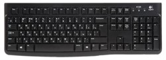 Клавиатура Logitech K120 Black (USB) (920-002522) - фото 6225