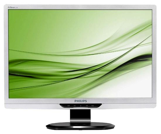 """LCD 22"""" Philips 220S2SS/00 Silver (CCFL, 16:10, 55.9см, 1680x1050, 250 кд/м2, 176°/170°, 5ms, DVI) - фото 6236"""