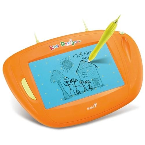 """Графический планшет Genius Kids Designer 5""""x8"""", USB - фото 6258"""