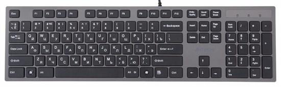 Клавиатура A4Tech KV-300H ультратонкая, ноутбучный механизм клавиш, 2xUSB, USB - фото 6259