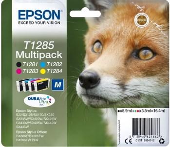 К-ж Epson T1285 MultiPack (T12814011+T12824011+T12834011+T12844011) для S22/SX125, ориг. - фото 6397