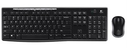 Клавиатура+мышь Logitech MK270 Wireless Desktop Black USB (920-004518) - фото 6580