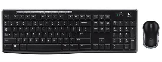 Клавиатура+мышь беспроводные Logitech MK270 Wireless Desktop Black USB (920-004518) - фото 6580