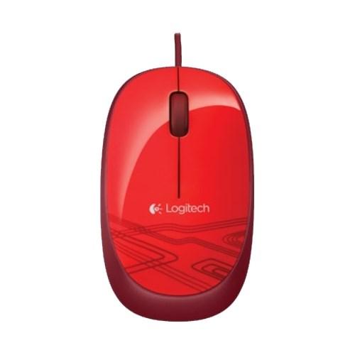 Мышь Logitech M105 красная, USB (910-003118) - фото 6613