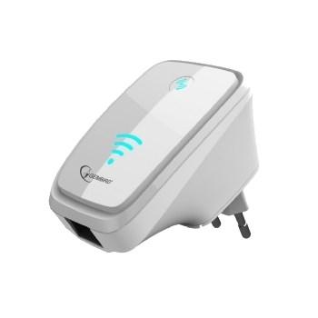 Ретранслятор (усилитель/повторитель/роутер/точка доступа) Wi-Fi 802.11n 300Mbps Gembird (WNP-RP-002-W) - фото 6678