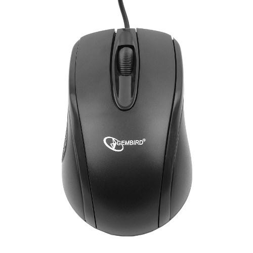 Мышь Gembird MUSOPTI8-801U, черный, USB, 800dpi - фото 6770