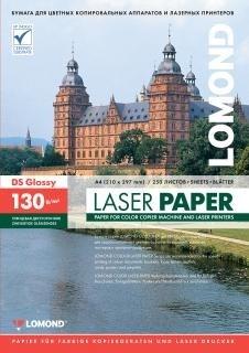 Бумага Lomond A4, для цветной лазерной печати, глянцевая, двустор., 130 г/м2, 250л. (0310141) - фото 6773