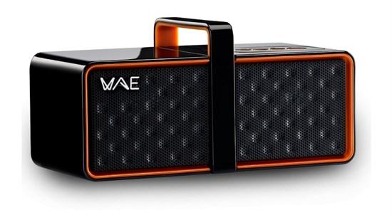 Портативная акустика Hercules WAE BTP03 (Bluetooth, 2x2Вт, аккум. до 14часов, черно-оранжевые) (4780558) - фото 6836