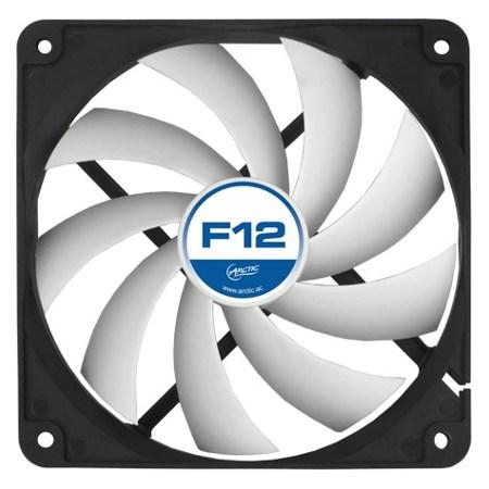 Вентилятор ARCTIC F12 PWM PST 120x120x25мм (AFACO-120P0-GBA01/ACFAN00062A) - фото 6902