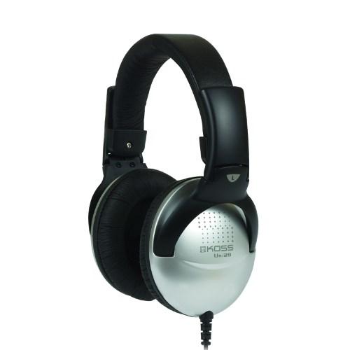 Наушники Koss UR29 Mixjockey (оголовье, закрытые, серые, 18Гц-20кГц, 100Ом, 101 дБ/мВт, 3,5 + 6,3 мм, кабель 2,4 м) - фото 6965
