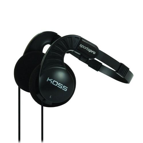 Наушники Koss Sporta Pro (оголовье, открытые, чёрные, 15Гц-25кГц, 60Ом, 103 дБ/мВт, 3.5мм, кабель 1,2 м, складные) - фото 6967