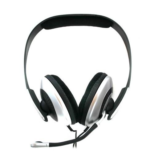 Гарнитура Creative HS 600 (оголовье, 20Гц-20кГц, 32Ом, 102 дБ/мВт / -44 дБ мик., 2 * 3,5 мм, кабель 2,5м ) - фото 6978