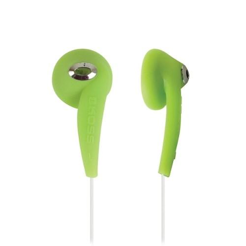 Наушники Koss KEB/7CLRG (вкладыши, зелёные, 40Гц-20кГц, 32Ом, 100 дБ/мВт, 3.5мм, кабель 1,2 м) - фото 6986