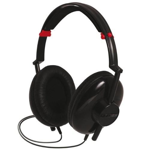 Koss KC25 (оголовье, закрытые, чёрные, 20Гц-18кГц, 32Ом, 90 дБ/мВт, 3.5мм + 6,3  мм, кабель 1,2 м) - фото 7003