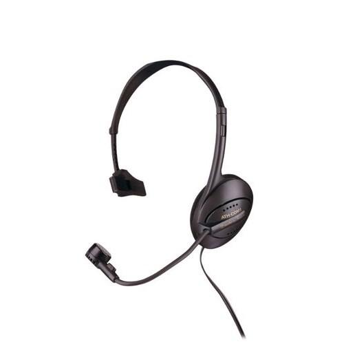 Audio-Technica ATH-COM1 (оголовье, моно, 30Гц-20кГц, 32Ом, 91 дБ/мВт / -55 дБ мик., 2 * 3,5 мм, кабель 1,5м) - фото 7028