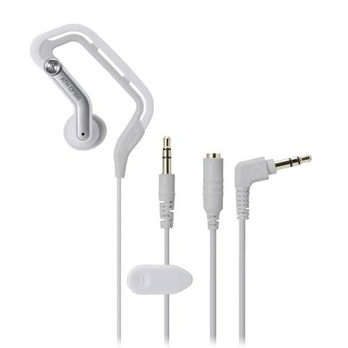 Наушники Audio-Technica ATH-CP300 WH (вкладыши-клипсы, белые, 10Гц-22кГц, 16Ом, 105 дБ/мВт, 3.5мм, кабель 0,6+0,6 м) - фото 7092
