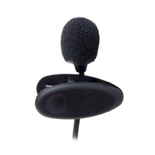 Микрофон Ritmix RCM-101 на клипсе, чёрный, 100-16000Гц, 680Ом, -52±2 дБ/1кГц, кабель 1.2м - фото 7212