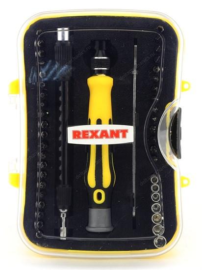 Набор отверток для точных работ 45 предметов Rexant (12-4706) - фото 7287