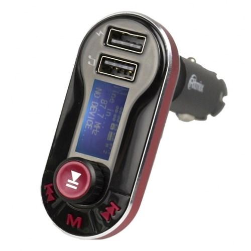 ФМ-передатчик Ritmix FMT-A780 (MP3 в прикуриватель а/м) + з/у USB 5V 2100mA - фото 7353