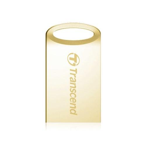 USB 2.0 Flash Drive 16GB Transcend JetFlash 510G металл, золото (TS16GJF510G) - фото 7423