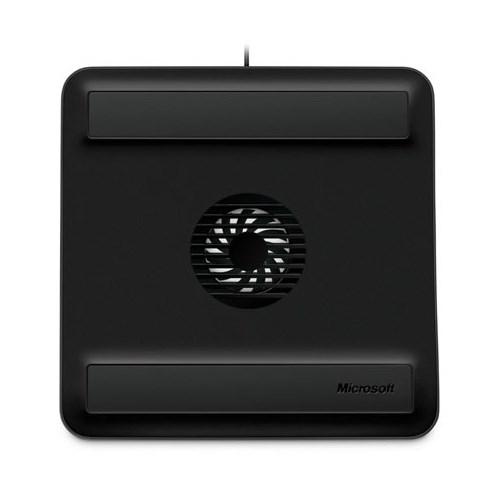 Подставка (охлаждение) для ноутбука Microsoft Notebook Cooling Base, USB, Black (Z3C-00008) - фото 7466