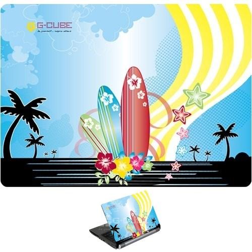 "Наклейка для ноутбука 13-15"" G-Cube Aloha Splash GSA-15S - фото 7472"