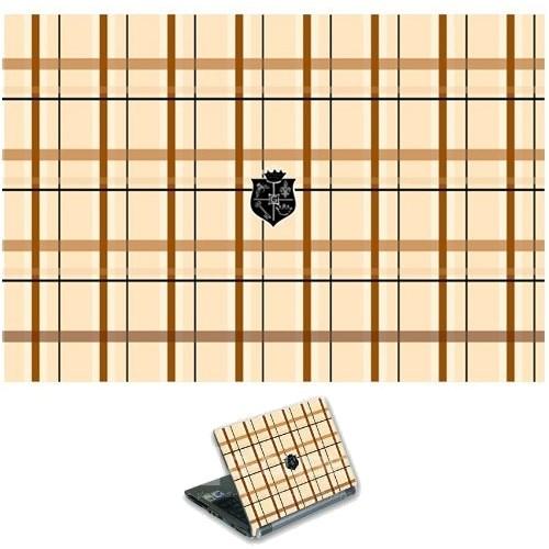 """Наклейка для ноутбука 13-17"""" G-Cube Mad For Plaid GSP-19B - фото 7473"""
