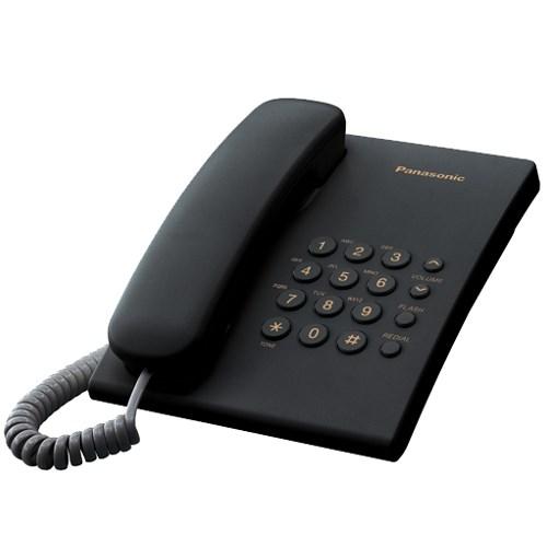 Телефон Panasonic KX-TS2350RUB (черный) - фото 7533