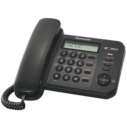 Телефон Panasonic KX-TS2356RUB (черный) - фото 7534