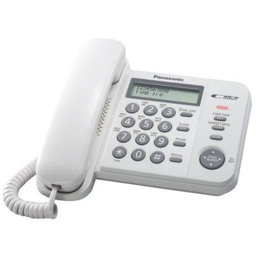 Телефон Panasonic KX-TS2356RUW (белый) - фото 7535
