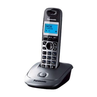 Р/Телефон DECT Panasonic KX-TG2511RUT (темно-серый металлик, спикерфон) - фото 7542
