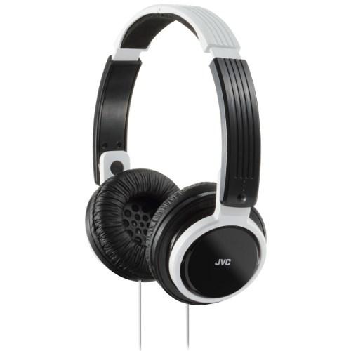 Наушники JVC HA-S200-W-EF белые (оголовье, закрытые, белые, 10Гц-22кГц, 32Ом, 107 дБ/мВт, 3.5мм, кабель 1,2 м) - фото 7703