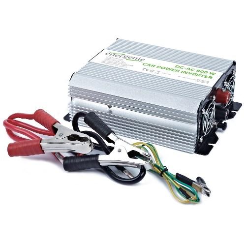 Адаптер питания автомобильный 12v -> 220V 800W Energenie EG-PWC-034 + 5V USB (на клеммы акк.) - фото 7832