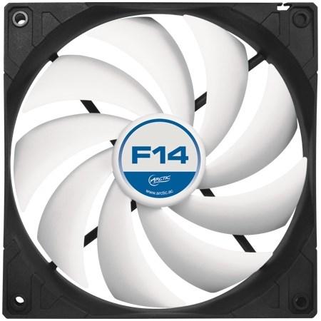 Вентилятор ARCTIC F14 PWM PST 140x140x25мм (AFACO-140P0-GBA01/ACFAN00079A) - фото 7916